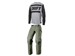 Shift 2018 Recon Drift Combo Jersey Pant - Light Grey
