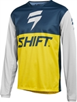 Shift 2018 White Label GP LE Jersey - Navy/Yellow