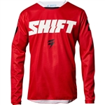 Shift 2017 White Label Ninety Seven Jersey - Red