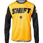 Shift 2017 White Label Ninety Seven Jersey - Yellow