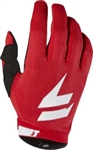Shift 2018 Whit3 Air Gloves - Red