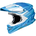 Shoei 2018 VFX-EVO Zinger Full Face Helmet - TC-2 Matte Blue/White