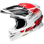 Shoei 2018 VFX-EVO Zinger Full Face Helmet - TC-1 Red/Black