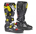Sidi 2018 Crossfire 3 SRS Boots - White/Black/Flo Yellow