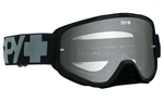 Spy - Woot MX Goggle- Black Sand w/ Smoke