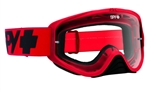 Spy - Woot MX Goggle- Mono Red