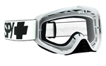 Spy - Woot MX Goggle- White