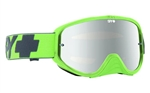 Spy - Woot Race MX Goggle- Washed Out Green