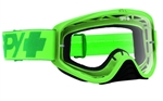 Spy 2017 Woot MX Goggle - Mono Green