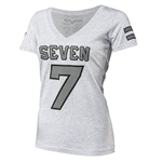 Seven MX 2018 Womens Athletic Tee - Gray Heather