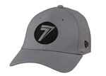 Seven 2018 Dot Stretch-Fit Hat - Gray/Black