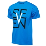 Seven 2018 Youth Escutcheon Tee - Turquoise