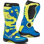 TCX 2018 Comp Evo 2 Michelin Boots - Royal Blue/Yellow Fluorescent