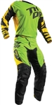 Thor 2017 Fuse Dazz Combo Jersey Pant - Green/Yellow