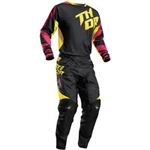 Thor 2017 Fuse Air Combo Jersey Pant - Magenta/Yellow