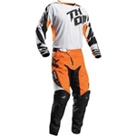 Thor 2017 Fuse Air Combo Jersey Pant - White/Orange
