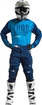 Thor 2017 Fuse Objectiv Combo Jersey Pant - Blue