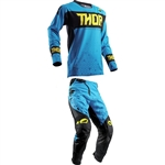 Thor 2018 Fuse Bion Combo Jersey Pant - Blue
