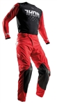 Thor 2017 Prime Fit Rohl Combo Jersey Pant - Red/Black