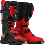 Thor 2017 Blitz Boots - Black/Red