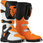 Thor 2017 Blitz Boots - White/Orange