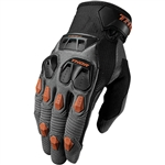 Thor 2017 Defend Gloves - Charcoal/Dark Orange