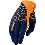 Thor 2017 Draft Comb Gloves - Navy/Orange