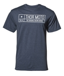 Thor 2018 Establish Tee - Navy Heather