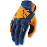 Thor 2017 Flow Gloves - Navy/Orange