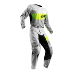 Thor 2018 Fuse High Tide Combo Jersey Pant - Grey/Lime