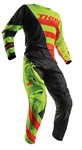 Thor 2018 Fuse Air Rive Combo Jersey Pant - Lime/Orange