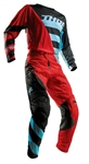 Thor 2018 Fuse Air Rive Combo Jersey Pant - Red/Blue