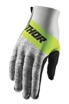 Thor 2018 High Tide Invert Gloves - Gray/Lime