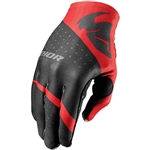 Thor 2017 Invert Rhythm Gloves - Red