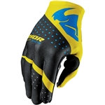 Thor 2017 Invert Rhythm Gloves - Yellow