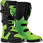 Thor 2018 Kids Blitz Boots - Black/Green