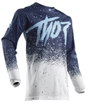 Thor 2018 Pulse Air Hype Jersey - White/ Navy