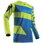 Thor 2017 Pulse Level Jersey - Electric Blue/Lime