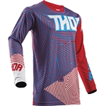 Thor 2017 Pulse Geotec Jersey - Red/Blue