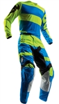 Thor 2018 Pulse Level Combo Jersey Pant - Electric Blue/Lime