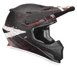 Thor 2018 Sector Hype Full Face Helmet - Black/Coral