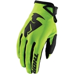 Thor 2017 Sector Gloves - Lime
