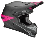 Thor 2018 Sector Hype Full Face Helmet - Charcoal/ Pink