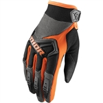 Thor 2017 Spectrum Gloves - Charcoal/Orange