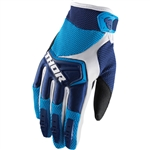 Thor 2017 Spectrum Gloves - Navy/Blue/White