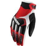 Thor 2017 Spectrum Gloves - Red/Black/White