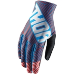 Thor 2017 Void Geotec Gloves - Blue/Red