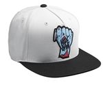 Thor 2018 Wide Open Snapback Hat - White/Black