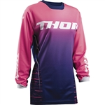 Thor 2017 Womens Pulse Dashe Jersey - Navy/Pink