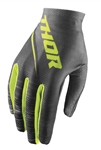 Thor 2018 Womens Void Dashe Gloves - Gray/Lime